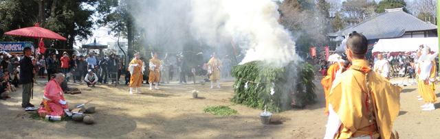 Das Feuerritual Saitō goma – Tag 5