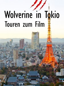 Wolverine in Tokio - Touren zum Film