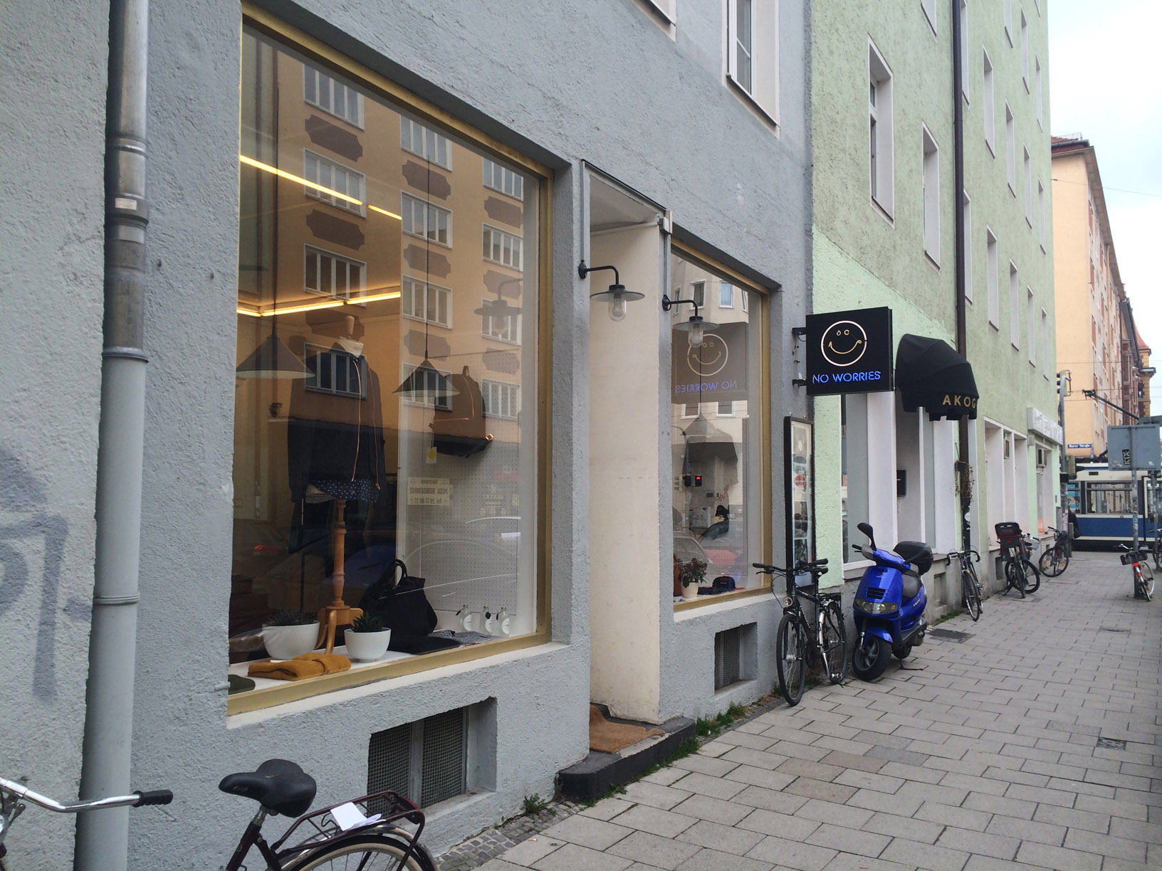 A Kind Of Guise Store in Schwabing