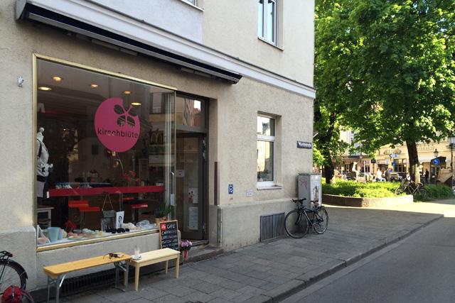 """Das Geschäft """"Kirschblüte"""" ist nach Schwabing umgezogen"""