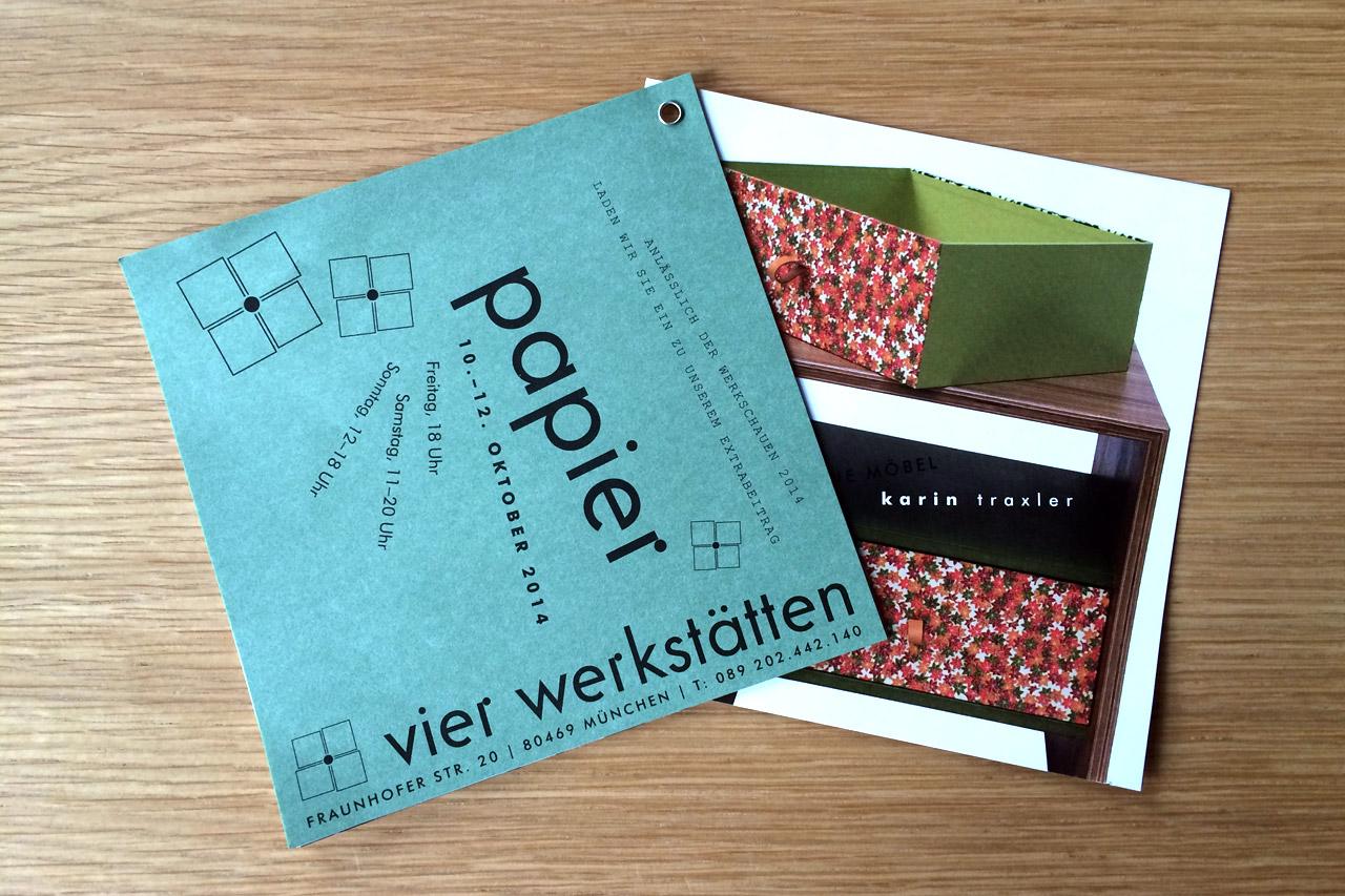 Werkschauen 2014 – Papier aus Japan