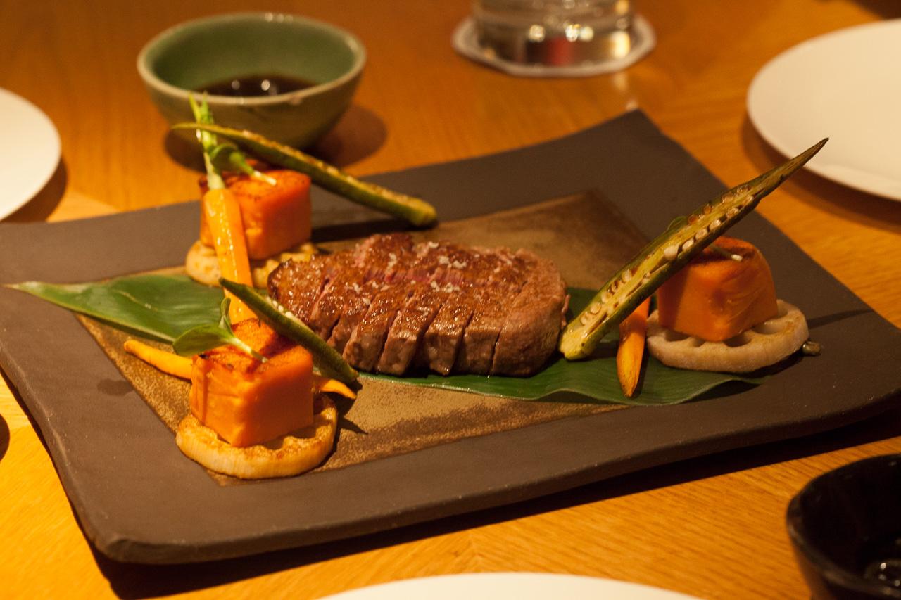 Kobe Beef im Restaurant Emiko