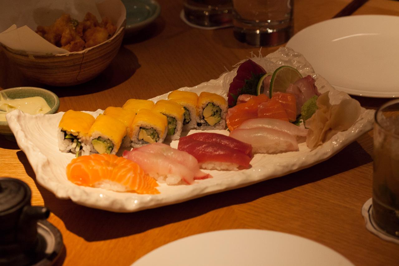 Japan-in-Muenchen-Emiko-Sushi-Platte-IMG_9055