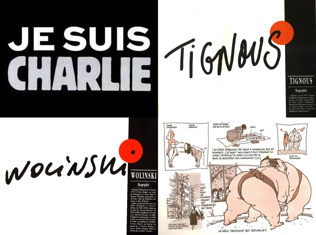 Je Suis Charlie – Impressions Japonaises