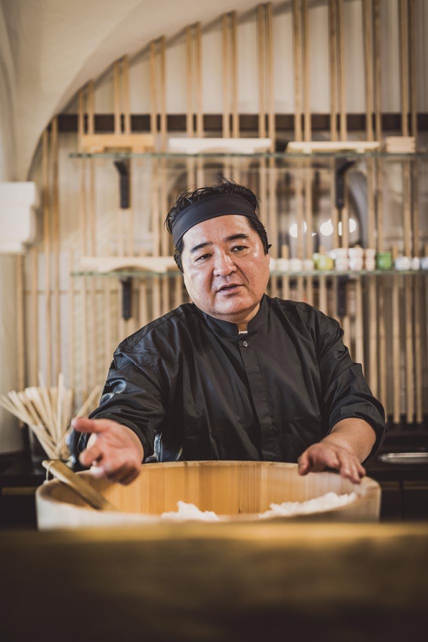 Japan-in-Muenchen-Restaurant MIZU (c) Bachmair Weissach-Sugiyama