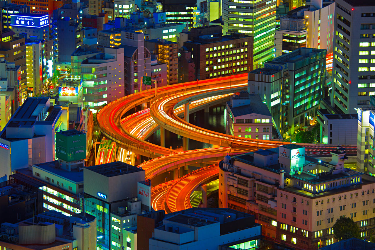 """Fotokunst """"Colours of Tokyo"""""""