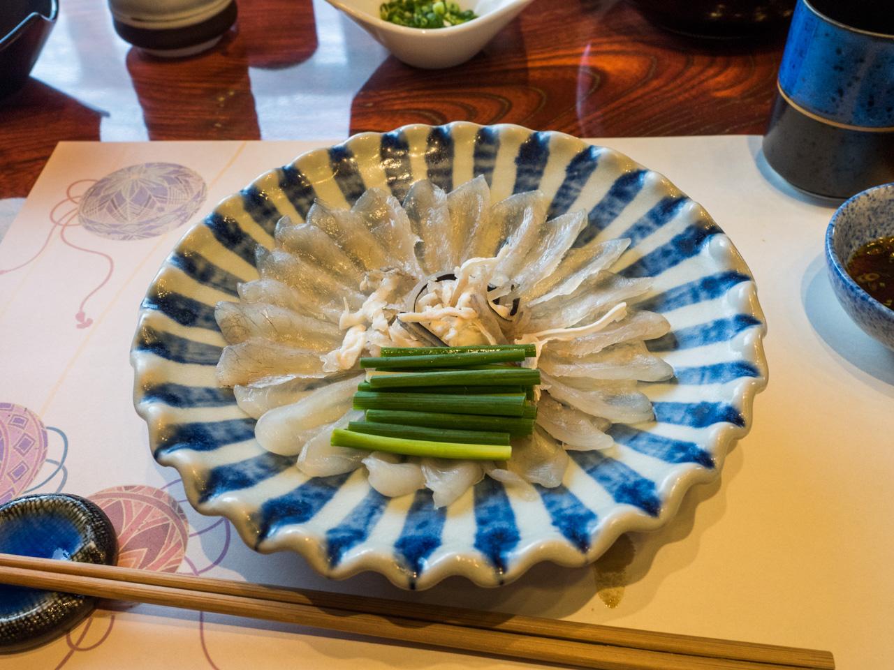 Gastbeitrag: Dem Fugu-Koch über die Schulter geschaut