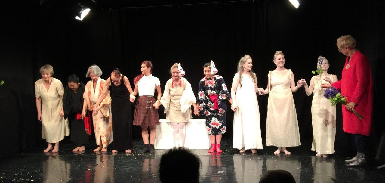 Butoh-Tanzstück von Doris Dörrie und Aya Irizuki in München