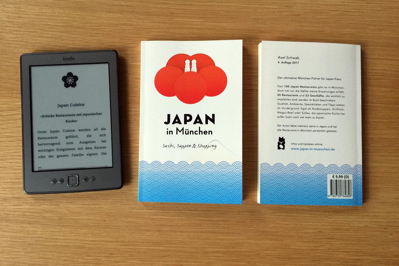 """Die 4. Auflage von """"Japan in München"""" ist erschienen"""