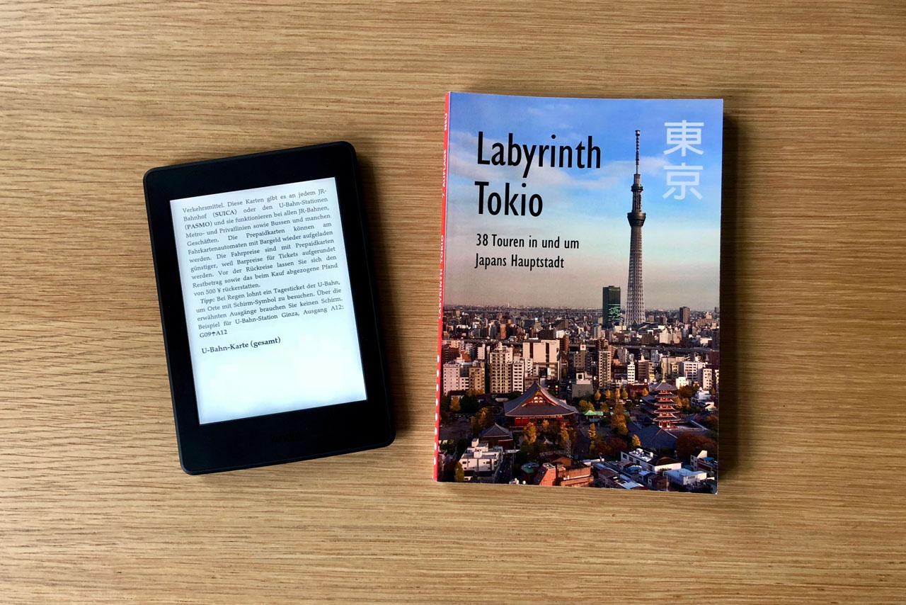 """7. Auflage """"Labyrinth Tokio"""" überall erhältlich"""