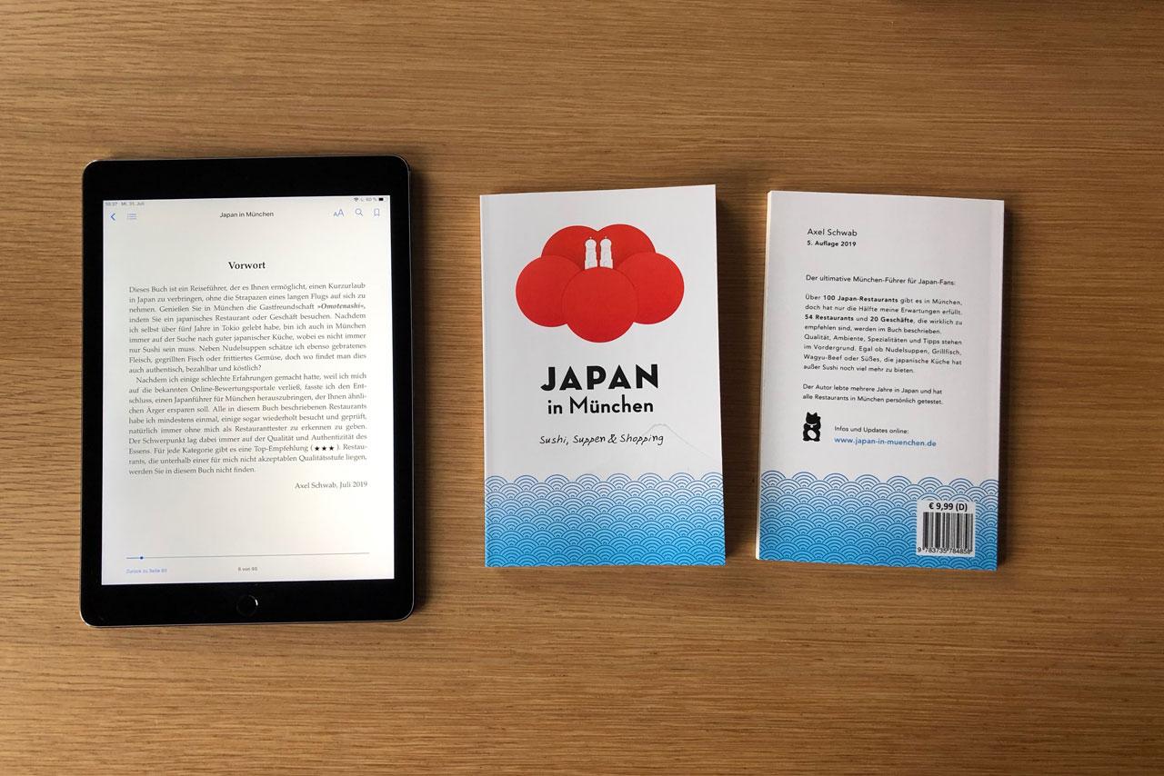 """Die 5. Auflage von """"Japan in München"""" ist erschienen"""